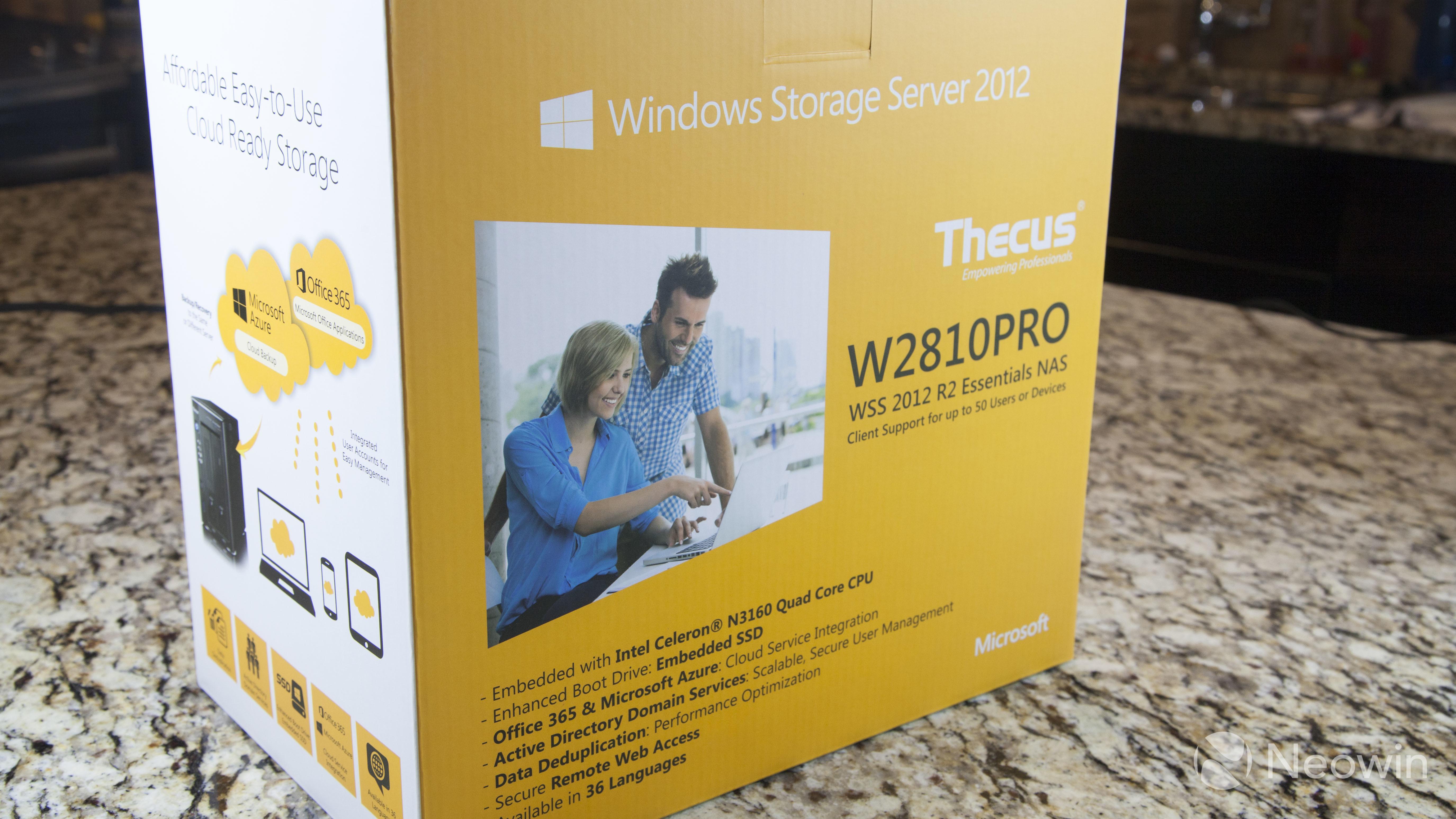 windows server 2012 essentials review