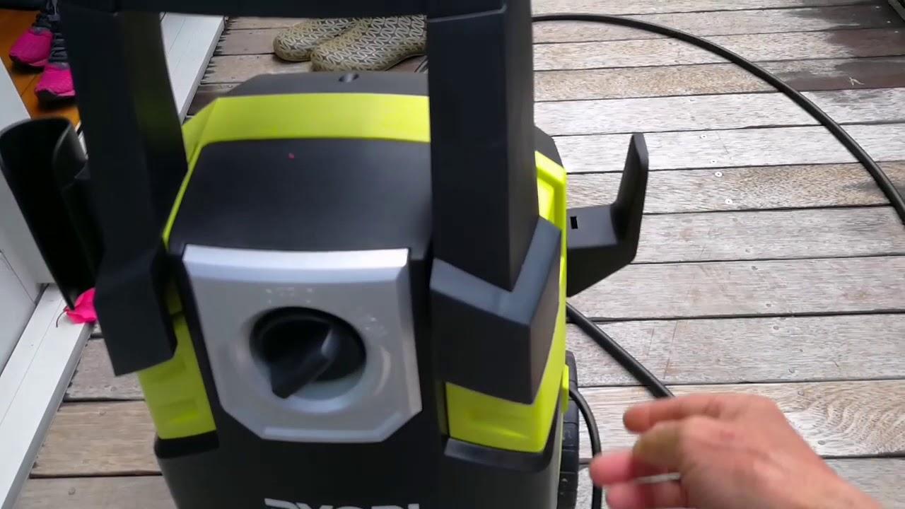 ryobi 1800w 2000psi pressure washer review