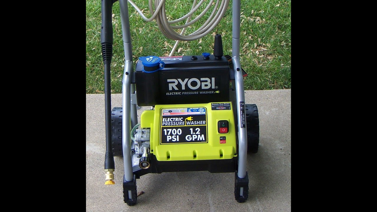 ryobi 2500 psi pressure washer review