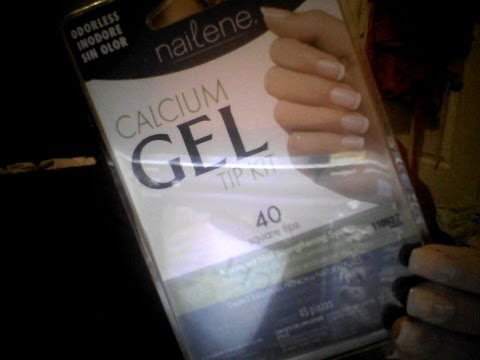nailene calcium gel tip kit review