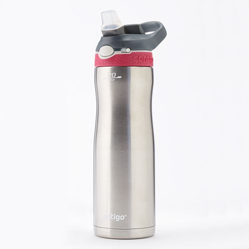 contigo stainless steel water bottle review