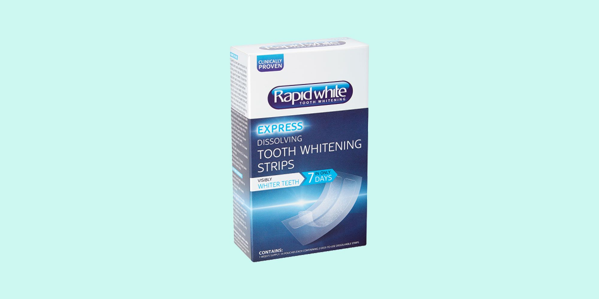 rapid white tooth whitening strips review
