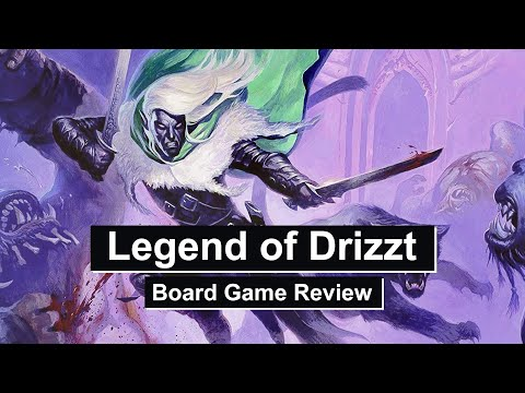 legend of drizzt board game review