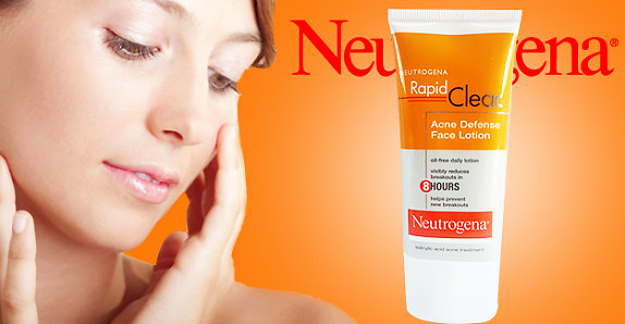 neutrogena rapid clear acne defense face lotion review