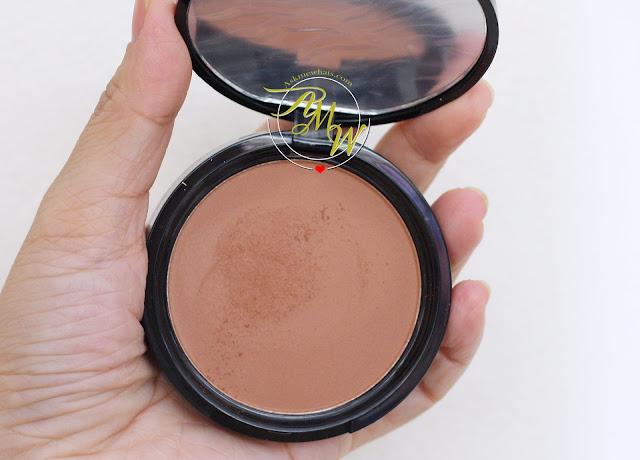 nyx matte bronzer light review