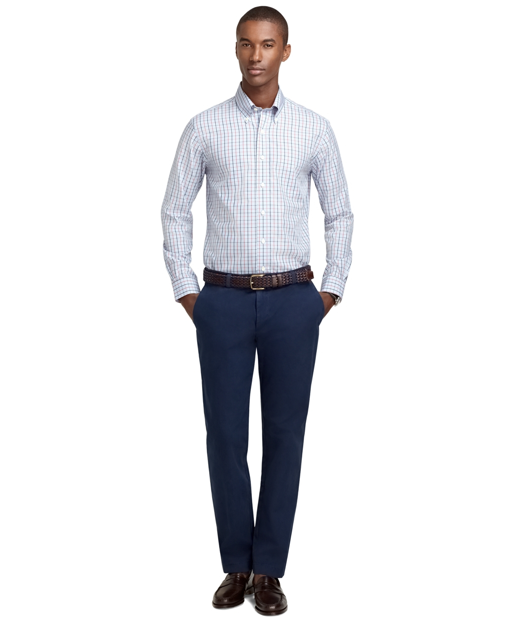 brooks brothers milano fit shirt review