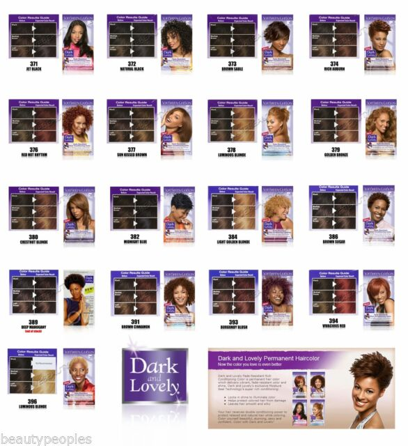 dark and lovely permanent hair color reviews
