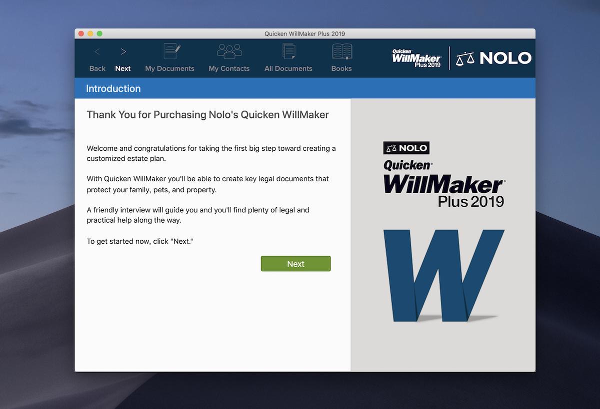 quicken willmaker premium home & family 2017 review