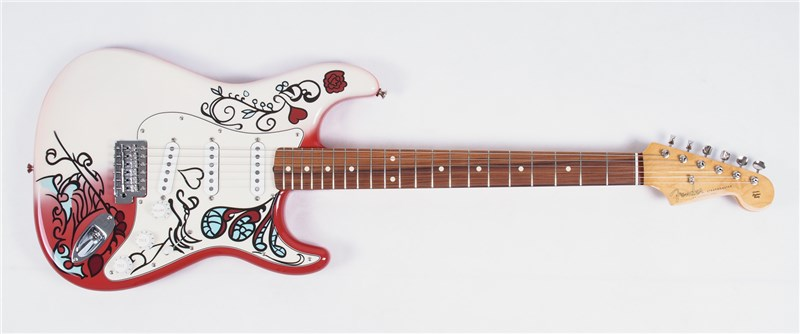 jimi hendrix monterey stratocaster review