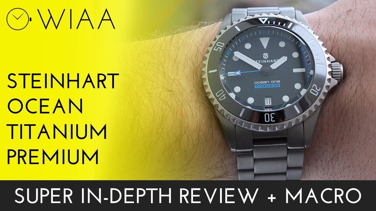 steinhart ocean titanium 500 gmt premium review