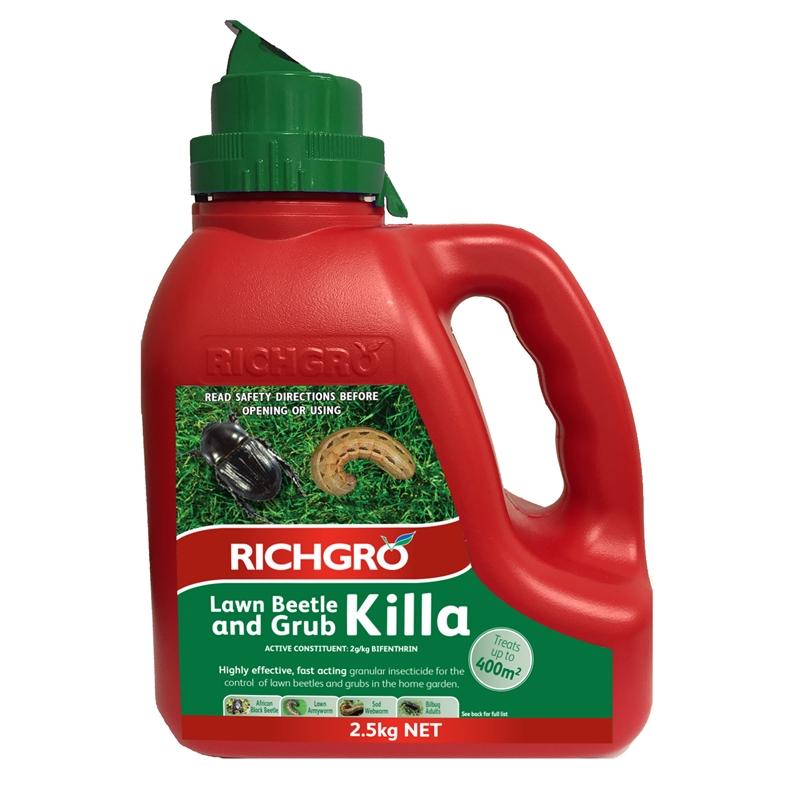 richgro lawn beetle and grub killa review