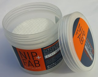 nip fab glycolic fix night pads extreme review