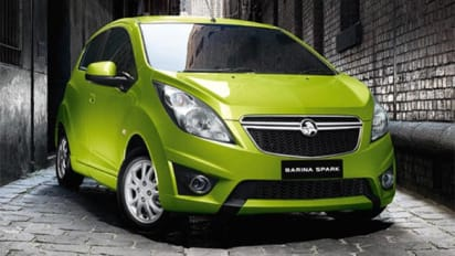 2011 holden barina spark review