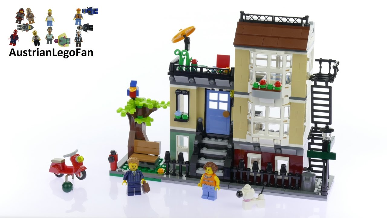 lego park street townhouse review