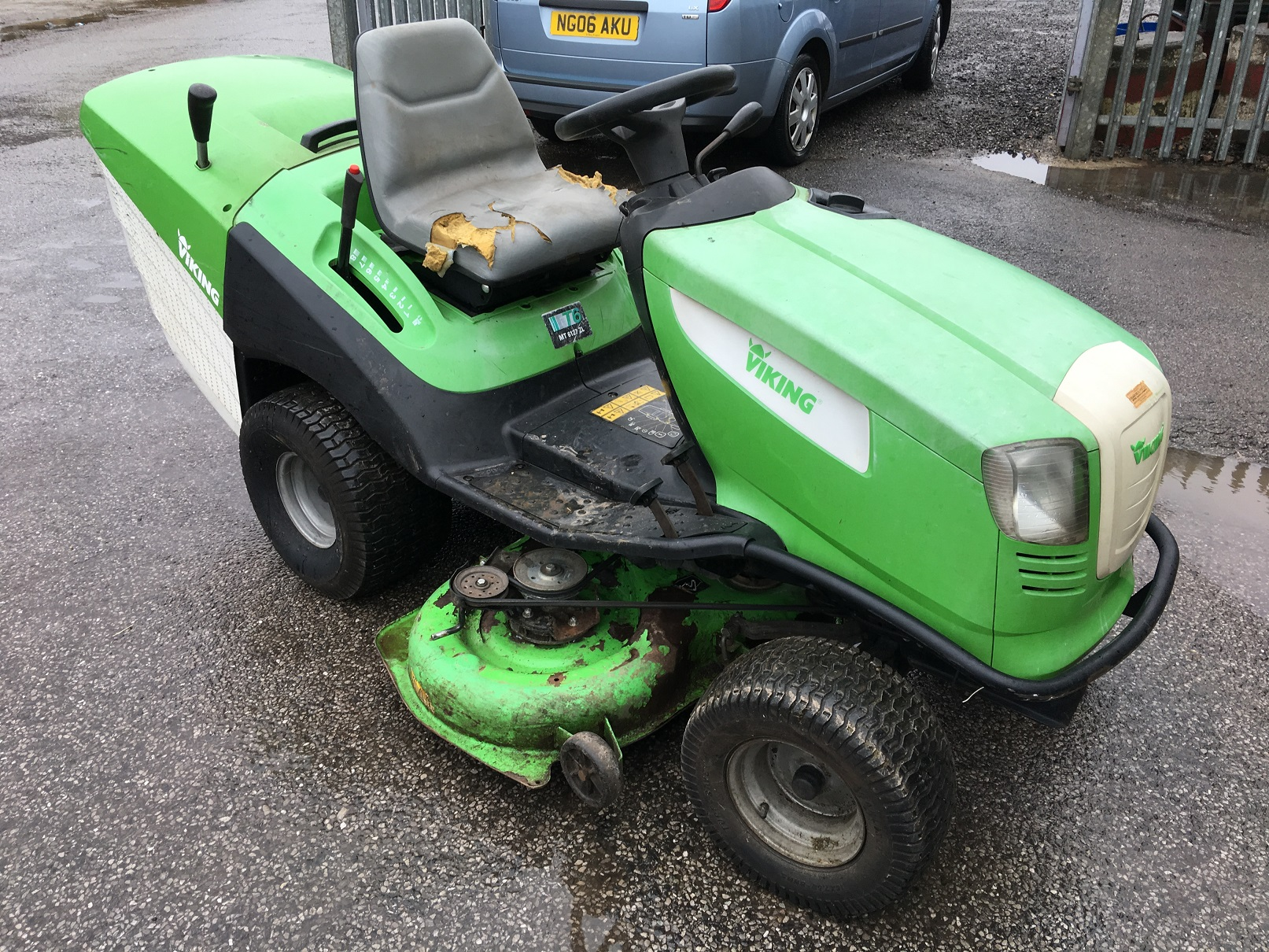 viking ride on lawn mower review
