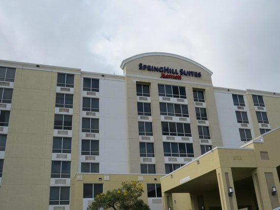 springhill suites miami airport south reviews