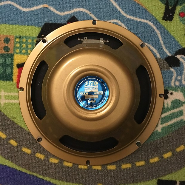 celestion alnico gold 10 review