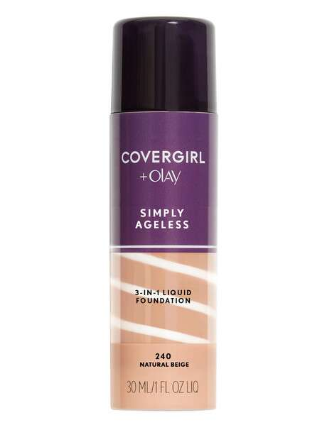 covergirl olay simply ageless 3 in 1 liquid foundation reviews