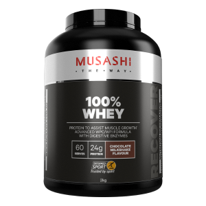 musashi whey protein isolate review