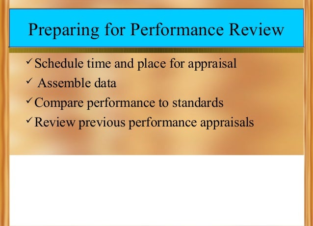 how to defend yourself in a performance review