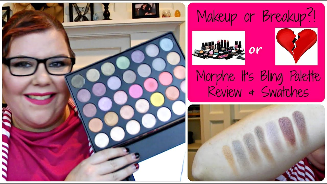 morphe its bling palette review