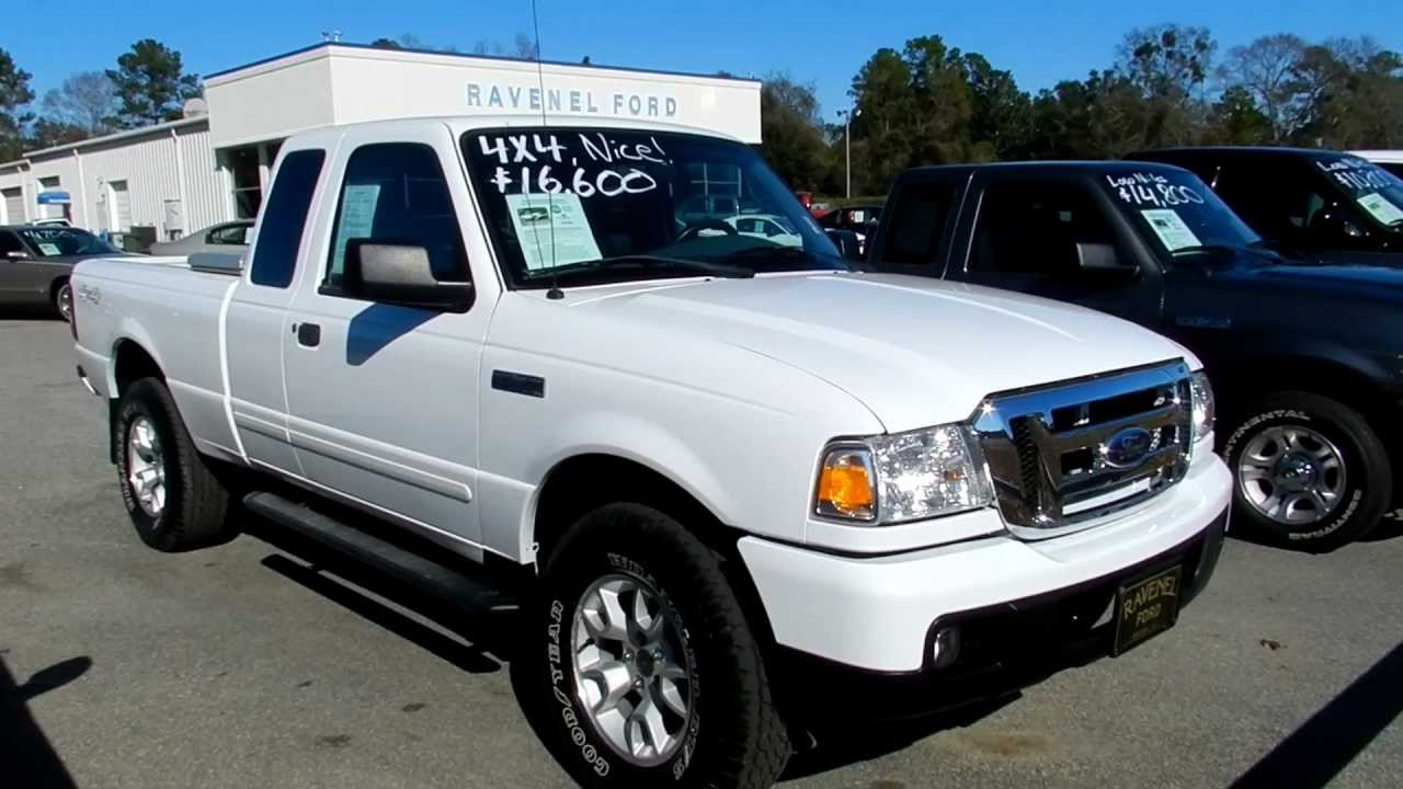 2007 ford ranger 4x4 review