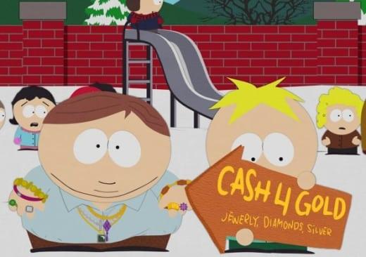 south park cash for gold review
