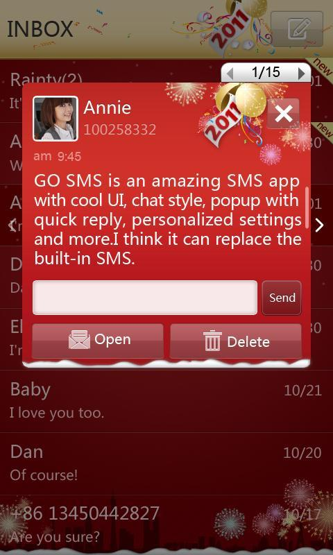 go sms pro app review