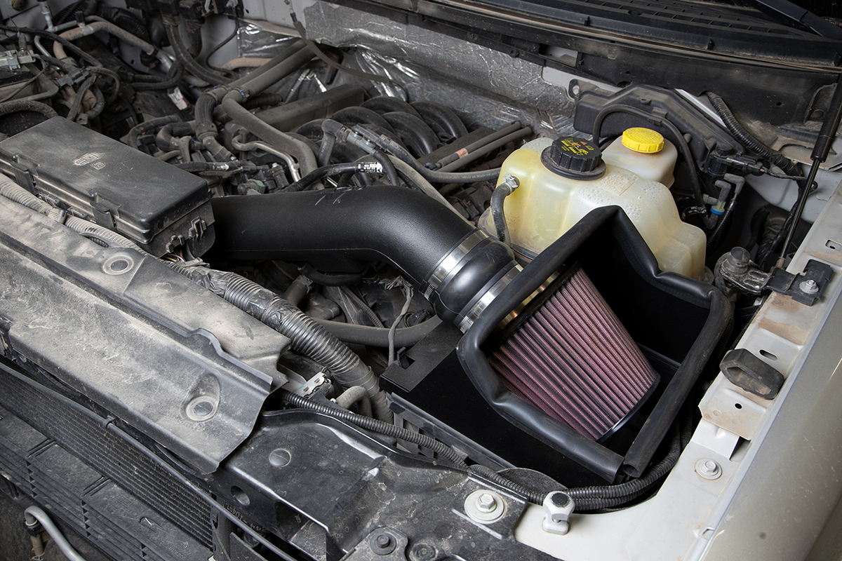 ford ranger k&n air filter reviews
