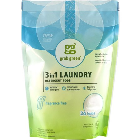 grab green laundry detergent pods reviews