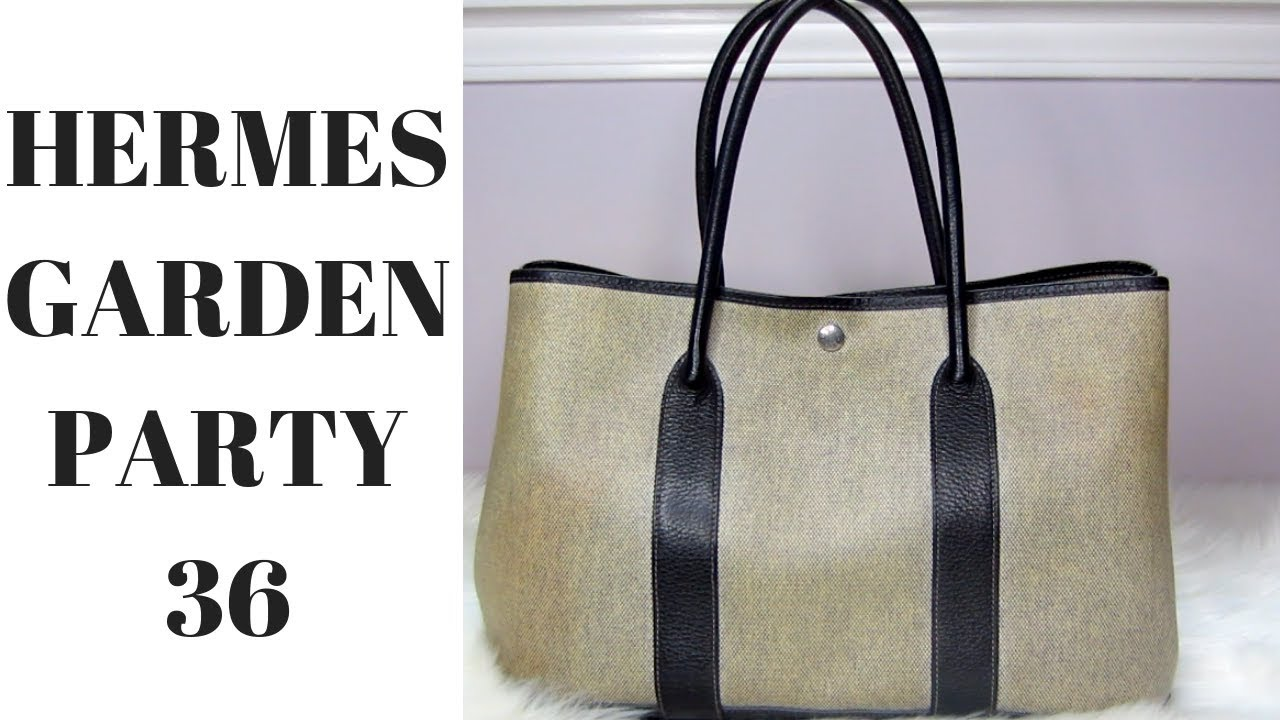 hermes garden party canvas review