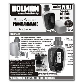 holman water whiz 400 review