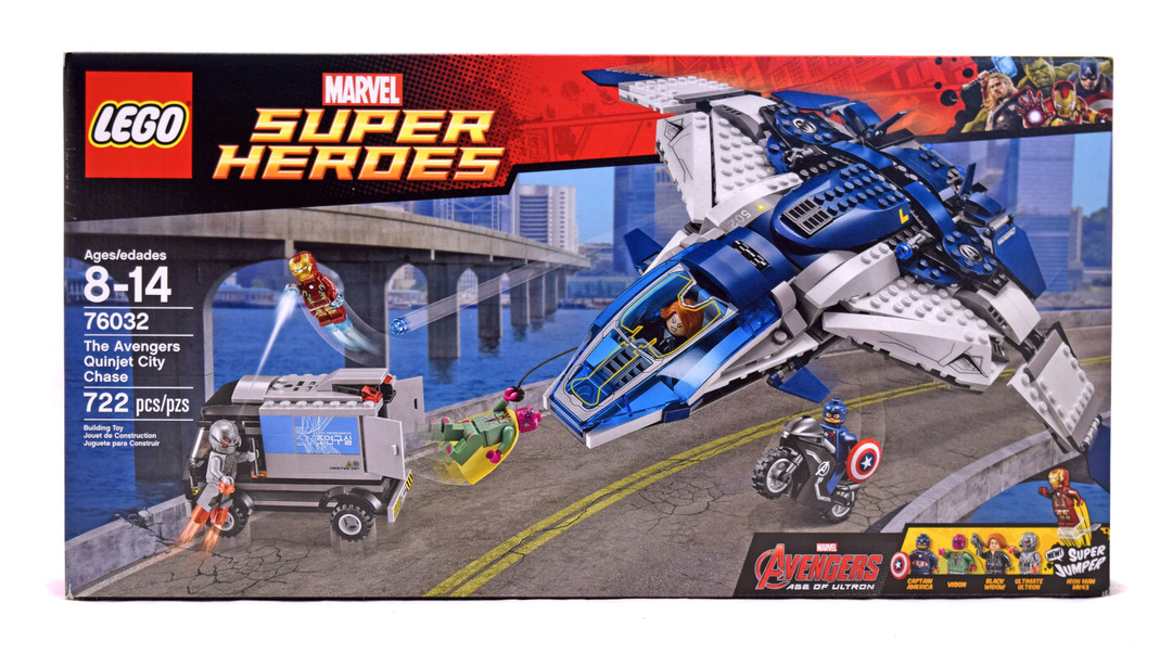 lego quinjet city chase review
