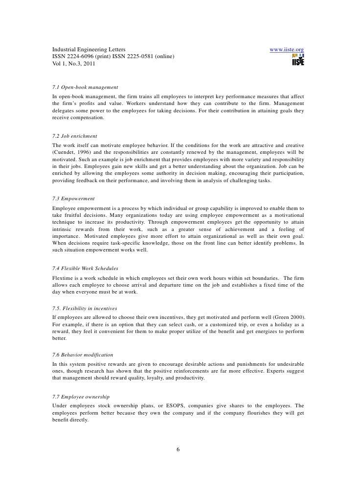 Discursive essay on generosity