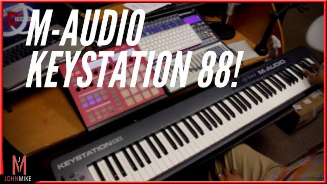 m audio keystation 88 review
