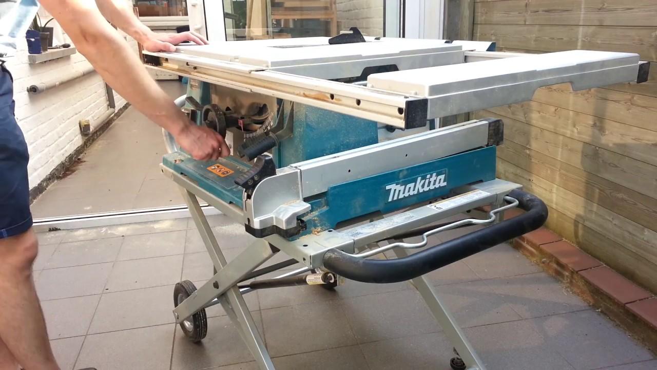 makita 2712 table saw review