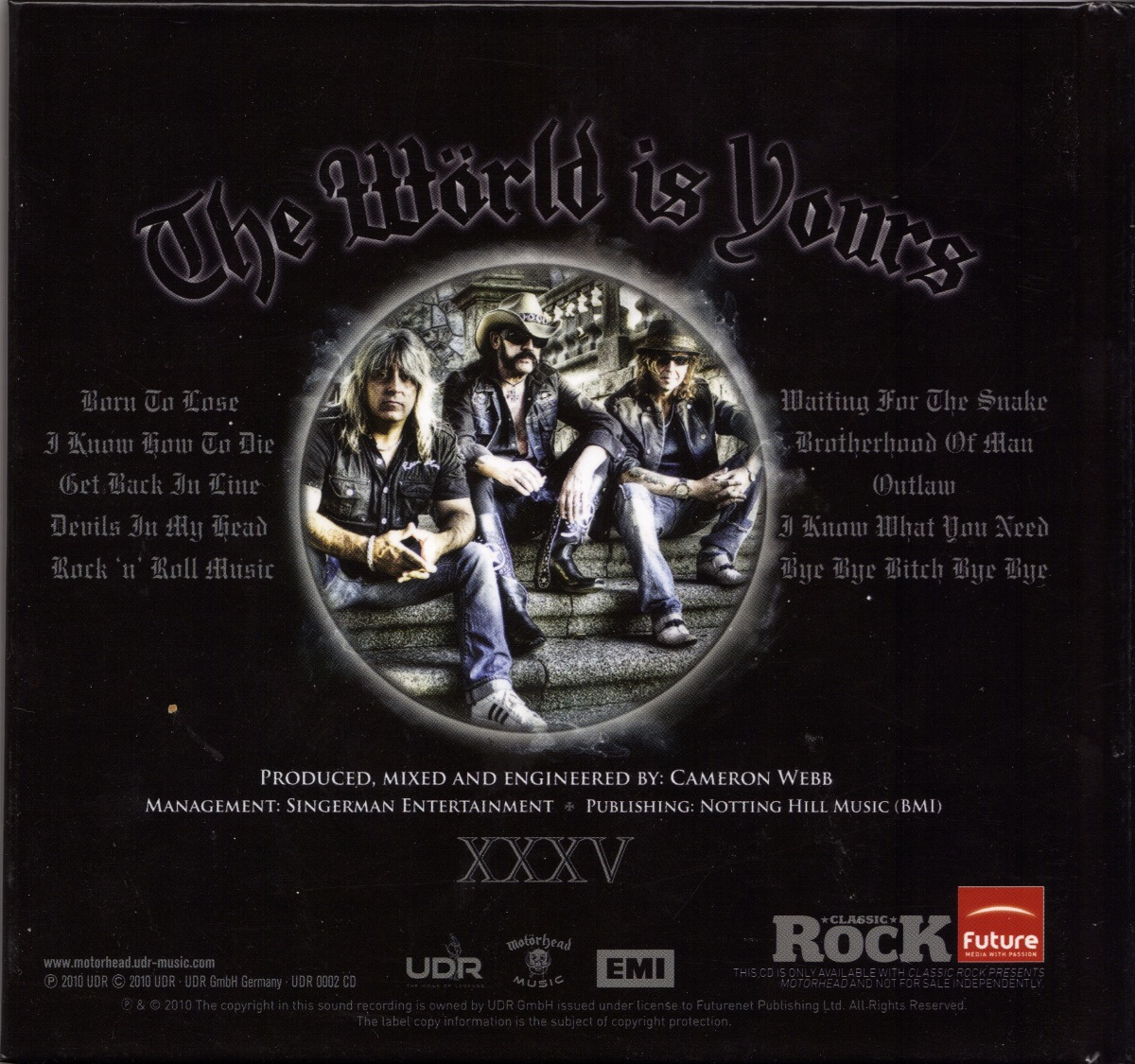 motorhead the world is yours review