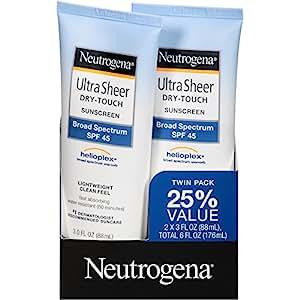 neutrogena ultra sheer fluid review