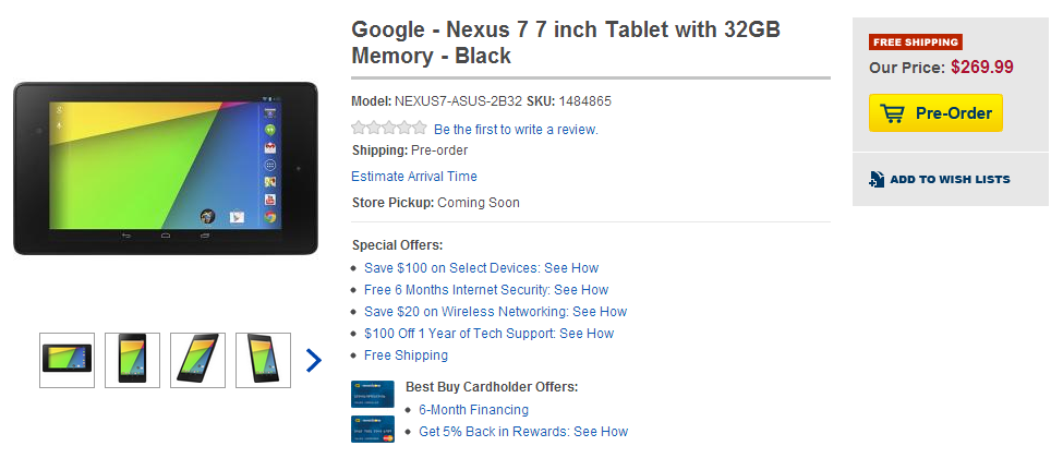 nexus 7 inch tablet review
