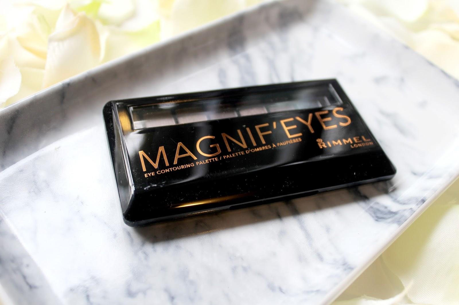 rimmel magnif eyes eye contouring palette review