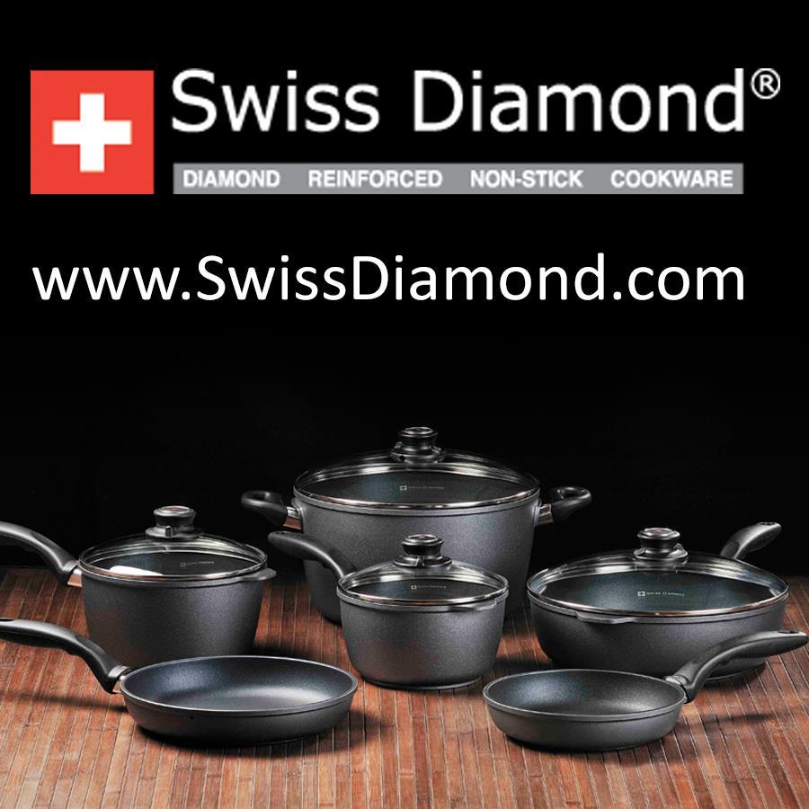 swiss diamond nonstick cookware review