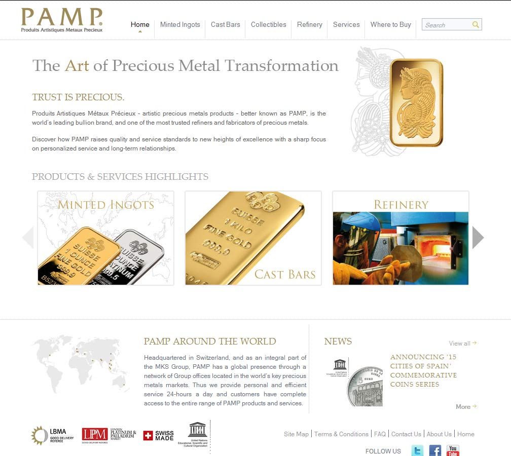 the gold bullion company review
